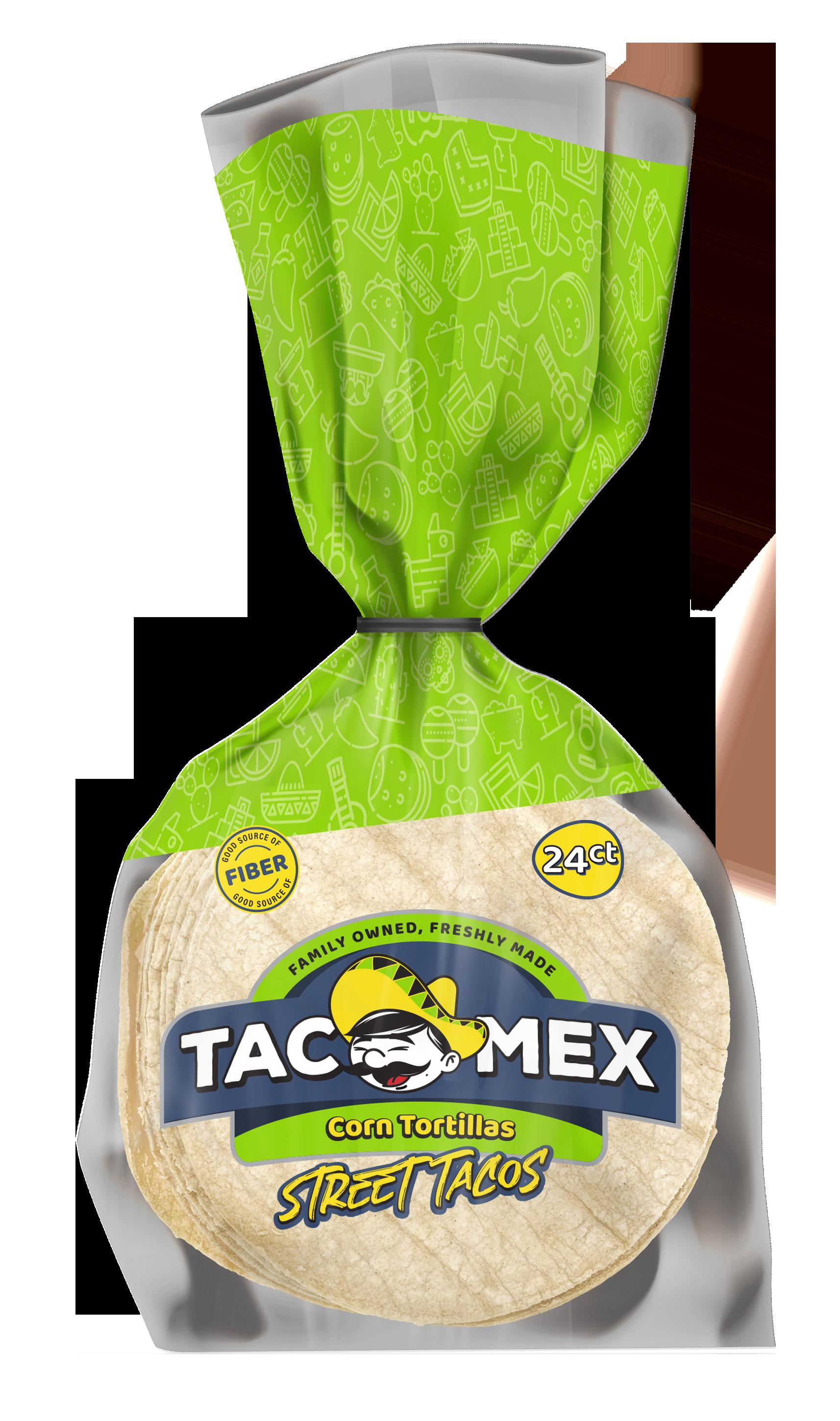 TacoMex Street Taco Corn Tortillas