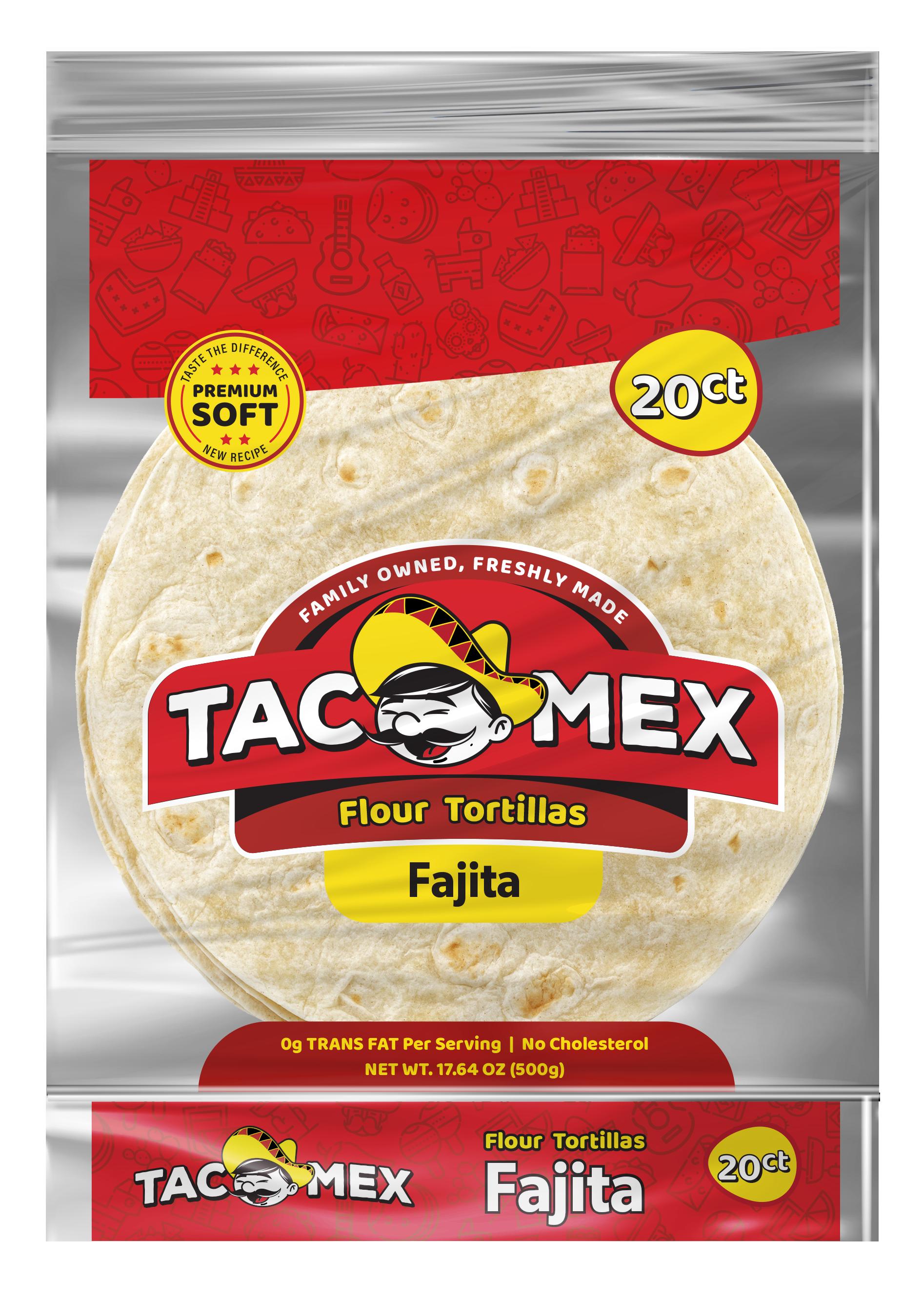 Tacomex fajita flour tortilla