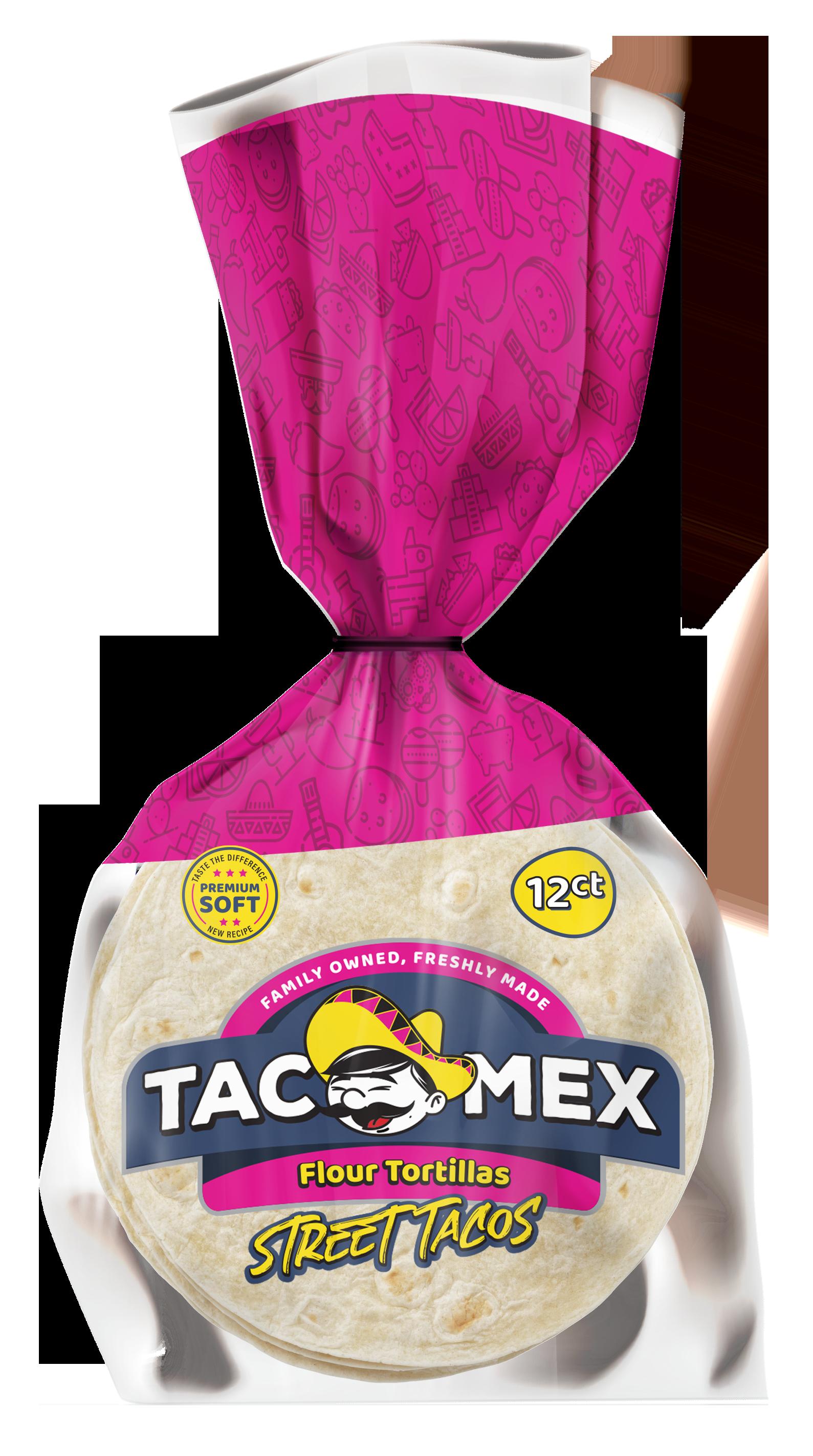 Tacomex street tacos flour tortillas copy